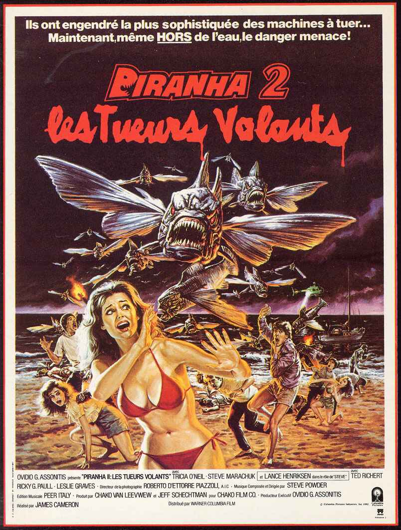 Piranhas II : Les Tueurs Volants