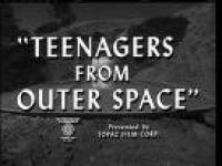 Teenagers from outer space (l\'invasion martienne)