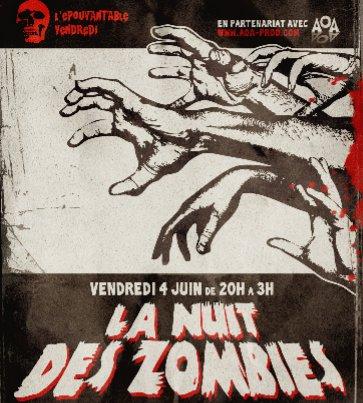 La nuit des zombies à Lyon