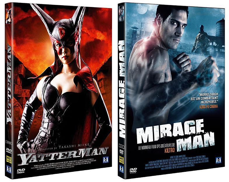 YatterMan, de Takeshi Miike + Mirage Man, d'Ernesto Diaz Espinoza