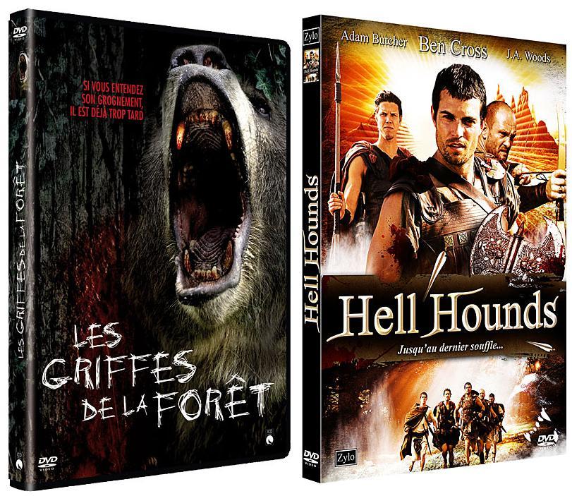 Les Griffes de la forêt, de David Decoteau + Hell Hounds, de Ricky Schroder