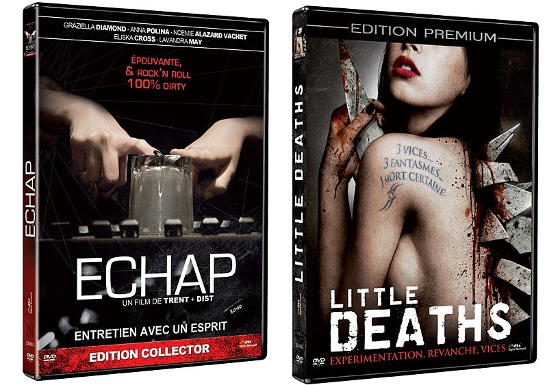 Echap, de Trent et Dist + Little Deaths, de Sean Hogan, Andrew Parkinson et Simon Rumley