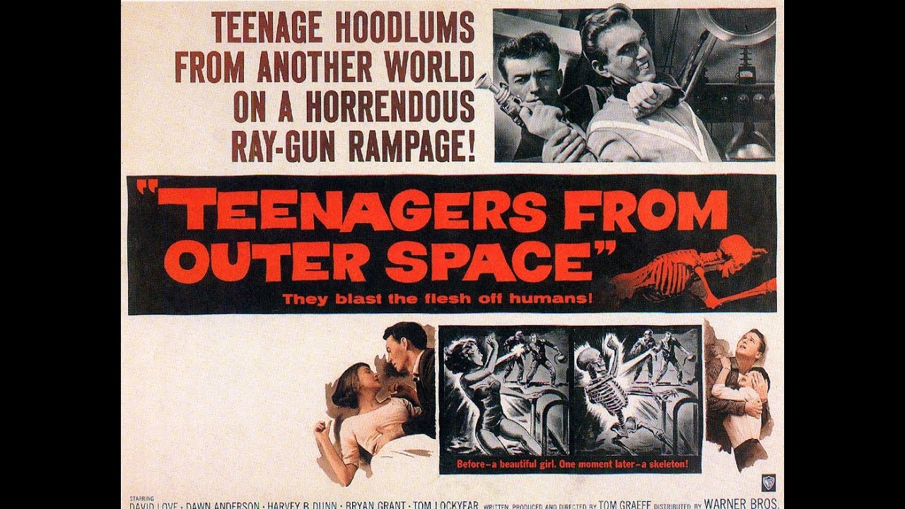 L'invasion martienne (teenagers from outer space)