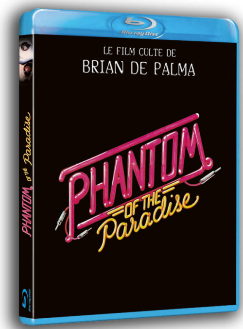 Phantom of the paradise en blu-ray