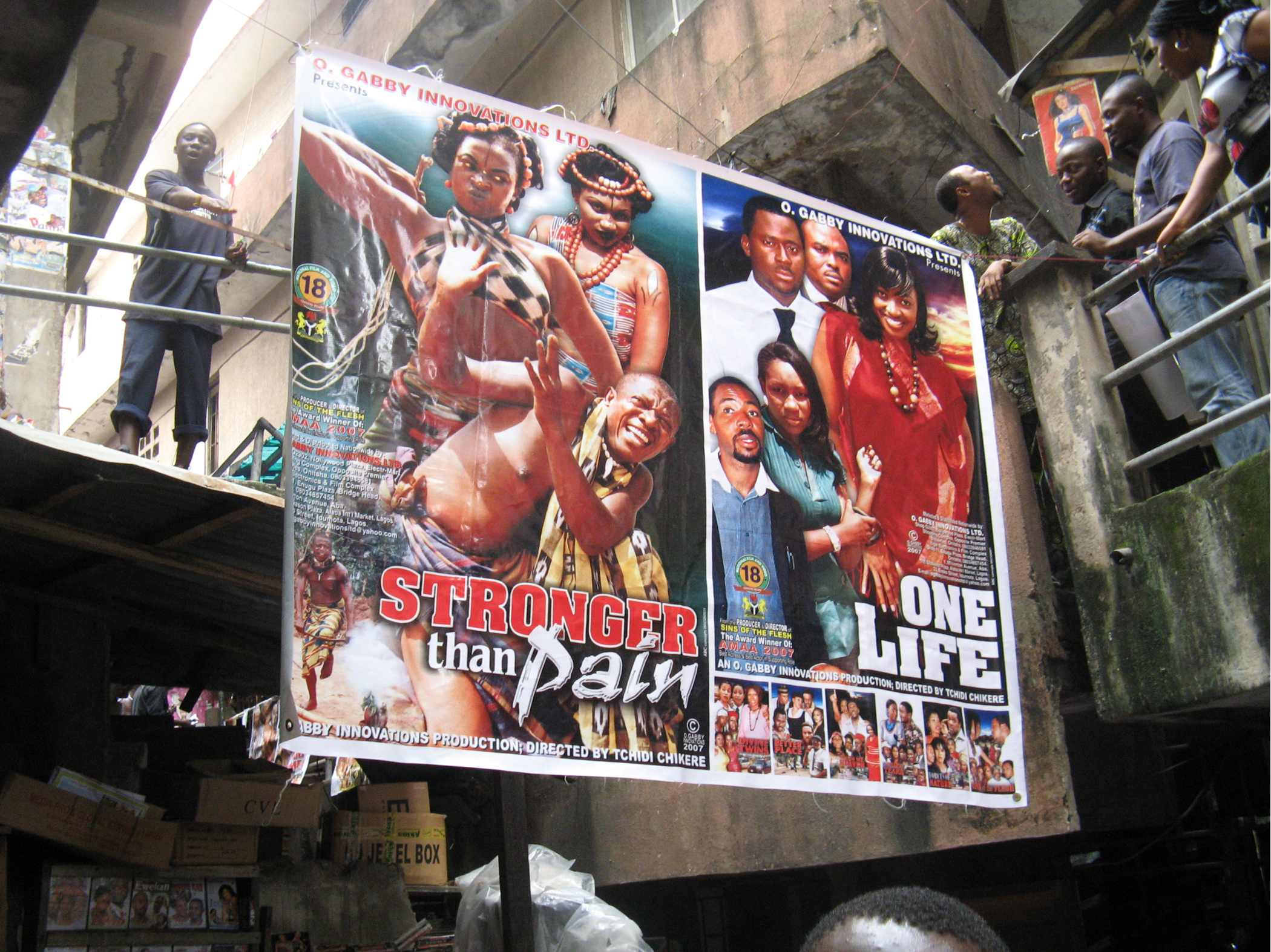 Nollywood  : le monde merveilleux du cinéma d'exploitation nigérian