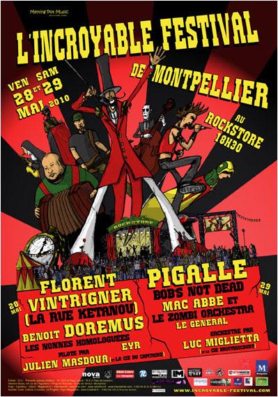 L'incroyable festival de Montpellier