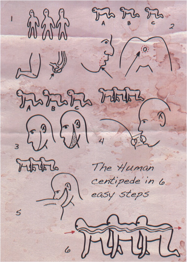 The Human Centipede, de Tom Six