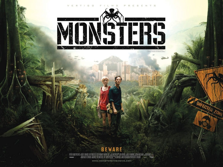Monsters, de Gareth Edwards