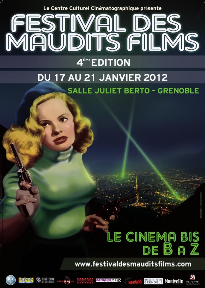 4e Festival des Maudits Films de Grenoble