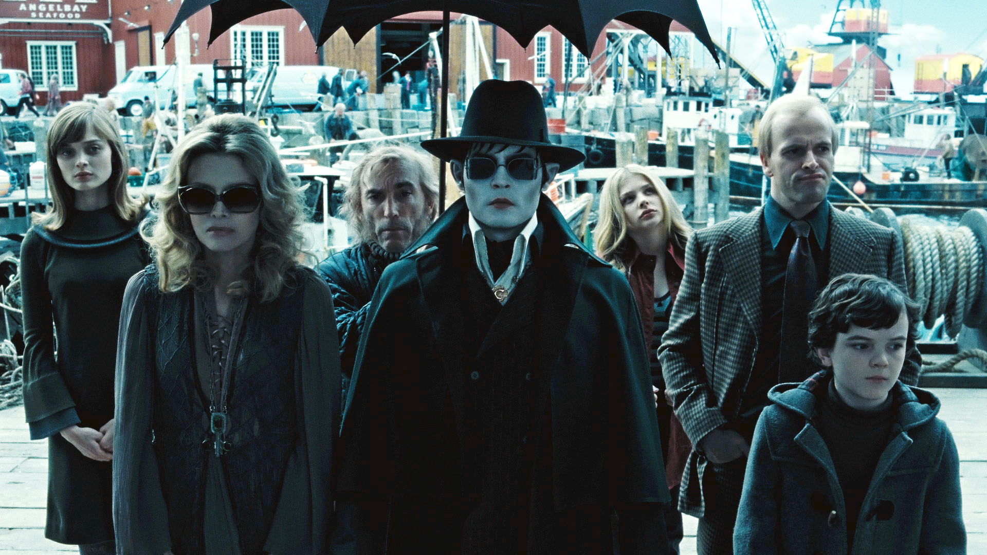 Dark shadows de Tim Burton