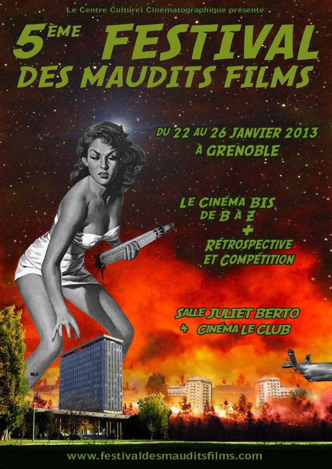 5e Festival des Maudits Films