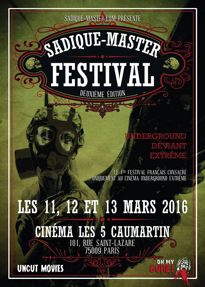 Sadique-Master festival, 2ème édition
