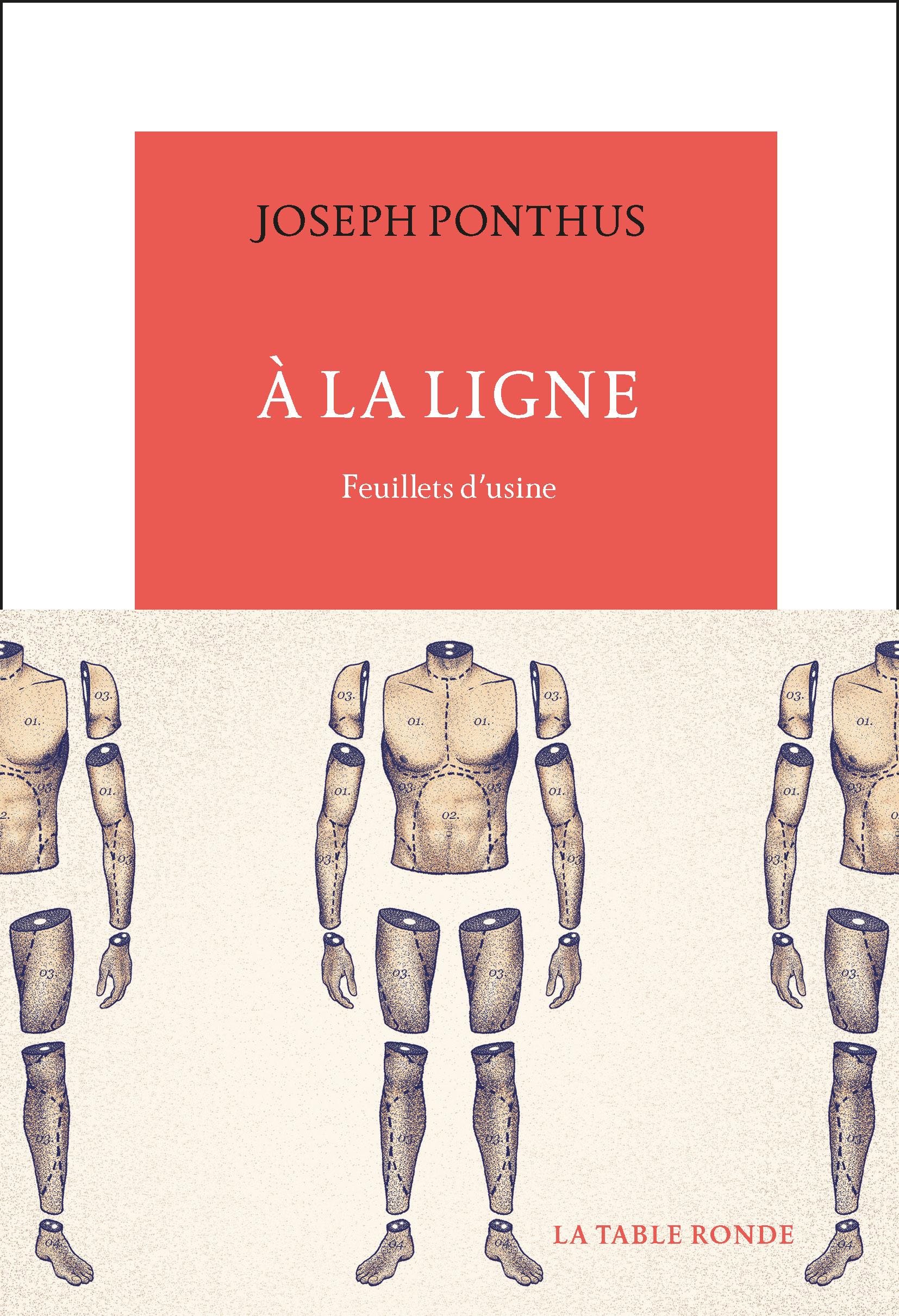 A la ligne : feuillets d'usine, de Joseph Ponthus